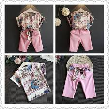 <b>1</b>-<b>6Y Summer</b> Baby <b>Kids</b> Girls Short Sleeve T-shirt Tops + Pants ...