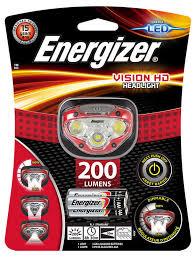 <b>Фонарь налобный Energizer</b> Vision HD Headlight 200 Lumens ...