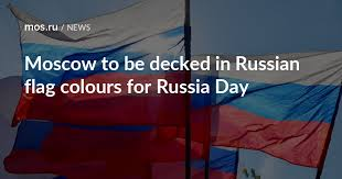 Moscow to be decked in <b>Russian flag</b> colours for Russia Day / News ...