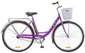Городской <b>велосипед STELS Navigator 345 28</b> Z010 с корзиной ...