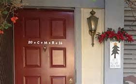 THE CHALKING OF <b>THE DOORS: AN</b> EPIPHANY TRADITION ...