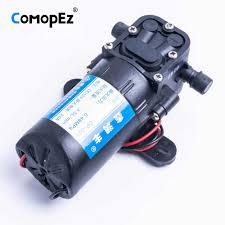 <b>DC 12V 80W</b> 130PSI <b>5.5L / Min</b> Electric Water Pump High Pressure ...