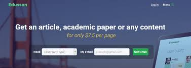 Edusson com Review   Cheap Essay for Me   REVIEWS Google Sites Edusson com Review