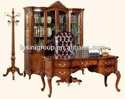 american antique design soild wood office desk setamerican wooden office furnitureclassical office desk setsbg600029 buy latest wooden furniture antique office table