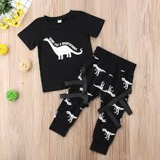 <b>Pudcoco</b> Boy Set 6M 5Y Dinosaur Toddler <b>Kid Baby</b> Boy <b>Cartoon</b> ...