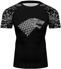 Men <b>Wolf</b> Running Tee Top Men Sportswear Printed Surfing <b>Rash</b> ...