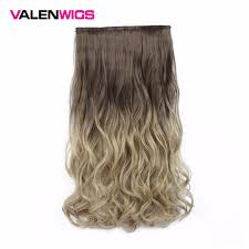 <b>Valen Wigs</b> Synthetic Hair Pieces <b>Clip In</b> Hair Extensions One Piece ...