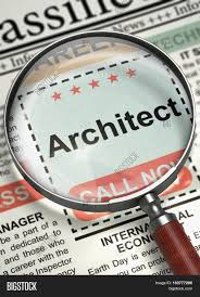 architect small ads of job search in newspaper magnifying lens architect small ads of job search in newspaper magnifying lens over newspaper small