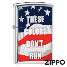 <b>Зажигалка Zippo</b> (Зиппо) THESE COLORS <b>DONT</b> RUN 28292