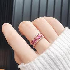 【In Stock】<b>Korean</b> Small Fresh <b>Micro</b>-<b>Inlaid Zircon</b> Heart-Shaped Tail ...