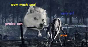 dark souls doge | Tumblr via Relatably.com