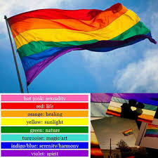 Collectables Other Collectable Flags <b>Hot Sale</b> 3x5FT Rainbow ...