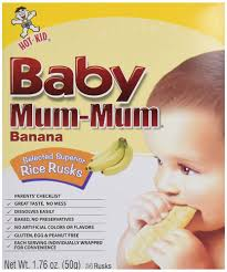 Baby Mum-Mum Banana Rice Rusks, 1.90 oz - Kroger