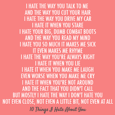 Search 10 things i hate about you quote images