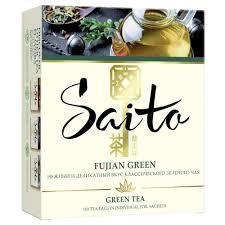 Стоит ли покупать <b>Чай зеленый Saito</b> Fujian <b>green</b> в пакетиках ...