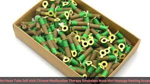 <b>SHARE HO</b> Mini Moxa Tube Self-stick Chinese Moxibustion Therapy ...