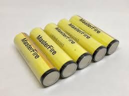 masterfire 8pcs lot 100 original battery for panasonic 18650 ncr18650a 3 7v 3100mah rechargeable lithium batteries