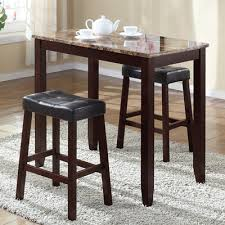 4 chair kitchen table:  piece counter height pub table set