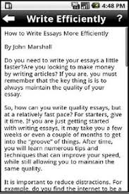 how to write an essay   android apps on google play  how to write an essay  screenshot thumbnail