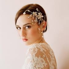 diosela.barrios Dazzling twisted rhinestone and pearl headpiece - Twigs and Honey - 31525266112047594onM0JE2ac
