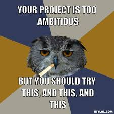 Art Student Owl Meme Generator - DIY LOL via Relatably.com