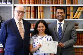 law student wins national medical law essay prize faculty law student tushka sridharan has won the inaugural medico legal society of victoria essay prize in the law division