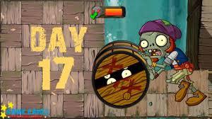 <b>Plants</b> vs Zombies <b>2</b> - Pirate Seas - Day 17 [Barrel <b>Roller</b> Zombie ...