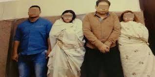 مصر القديمة - صدور الحكم بالسجن ثلاث سنوات مع غرامة للمتهمين بتبادل الزوجات