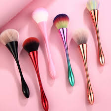 nail brushes cleaning dust powder art manicure pedicure soft remove acrylic for tool