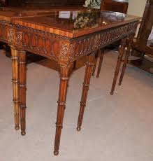 table nepal hand carved rustic brown