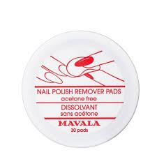 NAIL POLISH REMOVER PADS <b>Салфетки для снятия лака</b> 30 шт ...