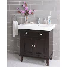 open bathroom vanity cabinet: full size of bathroom small present gray subway wall tile and black white vanity with single