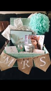 <b>Engagement gift</b> basket for the bride to be   Engagement party gifts ...