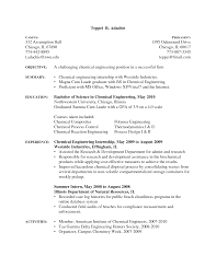 printable chemical engineer resume sample eager world annamua