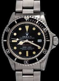 "Rolex ""The Double Red Seadweller ref. <b>1665</b>"". Status: sold 