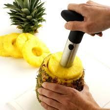 <b>Stainless Steel</b> Fruit <b>Pineapple Corer</b> Slicer – Life Booster Shop