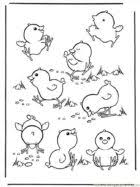 Small Picture Best Easter Baby Chicks Coloring Pages Free 4103 Printable