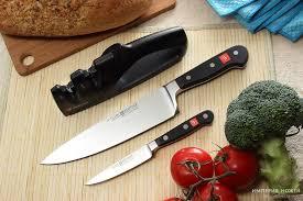 Набор кухонных <b>ножей</b> 2 шт+ <b>точилка</b> серия Classic – <b>Wuesthof</b>