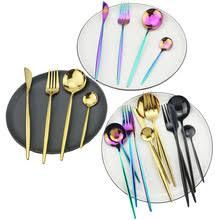 Набор золотой посуды <b>18</b>/10 <b>набор столовых приборов</b> из ...