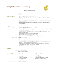 doc example resume objective for resume accounting doc 12751650 26 professional accounting clerk resume for your project