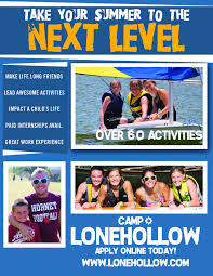 jobs department of teaching and learning blog camp lonehollow counselor flyer image