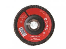 <b>Диск Elitech</b> 1820.039100 лепестковый 125x22mm P80