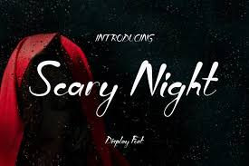 <b>Scary Night</b> Font | dafont.com