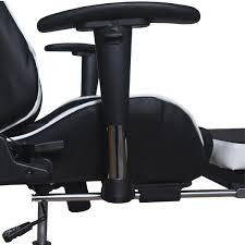 Игровое компьютерное <b>кресло</b> MFG-<b>6001</b> black <b>white</b> - Meb-biz.ru