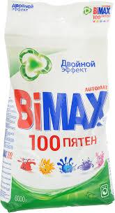 """<b>Стиральный порошок BiMax</b> """"100 пятен"""", <b>автомат</b>, 6 кг — купить в ..."""
