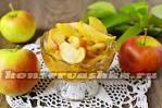 Заготовка яблочная для пирогов на зиму