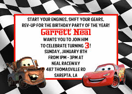 doc 500375 cars invitation cards disney cars photo birthday personalized disney cars invitations cars invitation cards