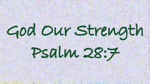god is your strength and shield god is your strength and shield