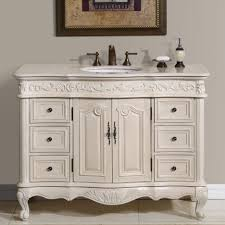 making bathroom cabinets: beautiful white rustic bathroom vanity have single sink oil rubbed bronze faucets triple holes beside toiletries under bathroom wall pictures above white