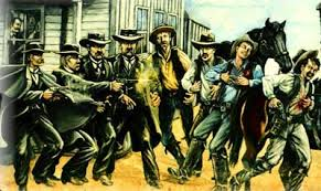 Image result for images gunfight at ok corral